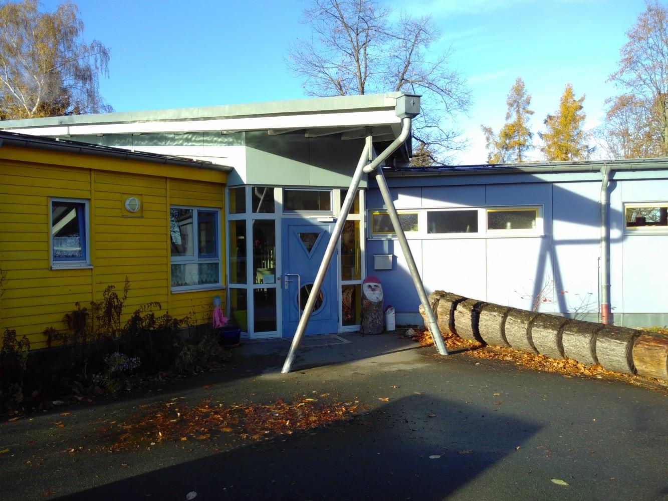 Eingang zum Nikolauskindergarten