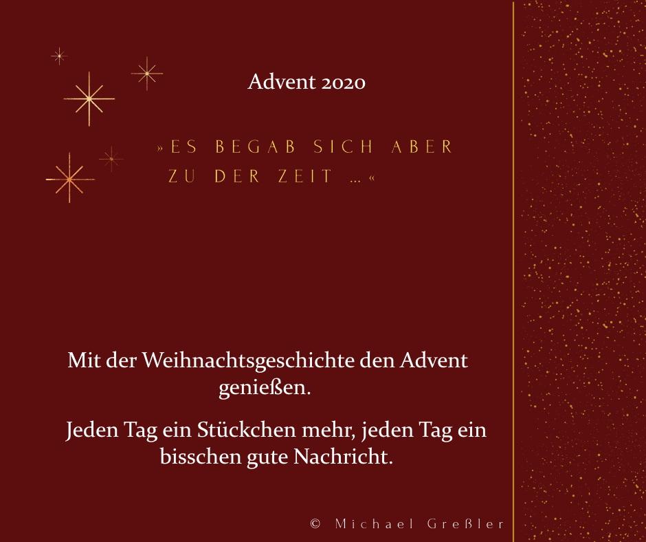 Digitaler Adventskalender, Plakat