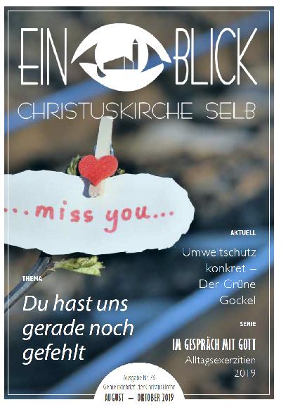 Das Magazin der Christuskirceh