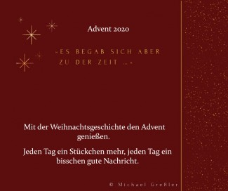 Plakat Digitaler Adventskalender